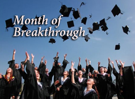 Read more about the article Month  of  Breakthrough