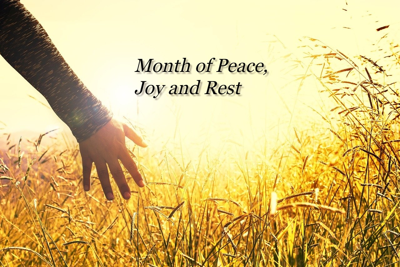 Read more about the article Month of Peace, Joy and Rest