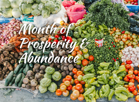 You are currently viewing Month of Prosperity and Abundance