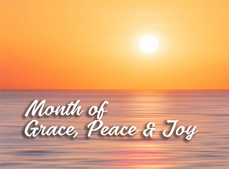 Read more about the article Month of Grace, Peace and Joy