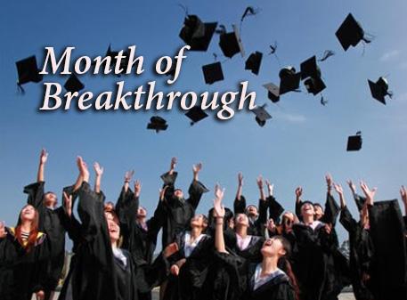 Month  of  Breakthrough
